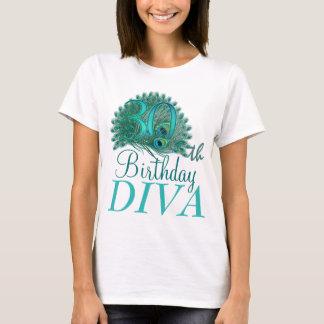 trigésimo Camisetas de la diva del cumpleaños