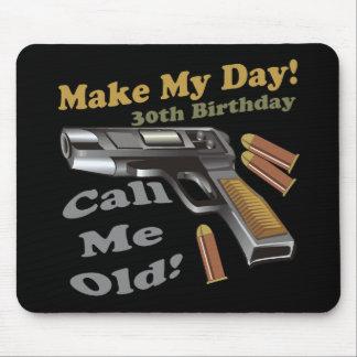 trigésimo Camisetas y regalos del cumpleaños Tapetes De Ratón