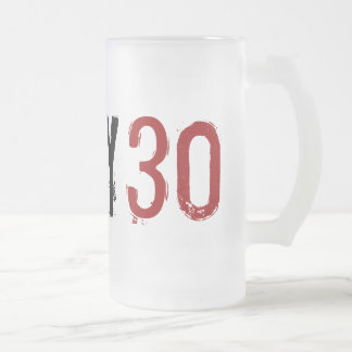 trigésimo cumpleaños - 30 sucios - taza