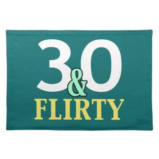 trigésimo Cumpleaños 30 y coqueto Mantel