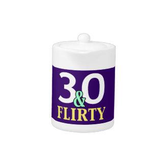trigésimo Cumpleaños 30 y coqueto