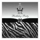 Trigésimo cumpleaños de princesa Crown Zebra Comunicado