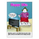 Trigésimo cumpleaños feliz tarjeta