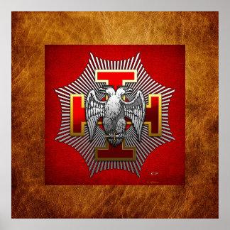 trigésimo Grado: Caballero Kadosh Poster