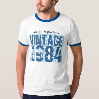 trigésimo Grunge 1984 del vintage del regalo de Polera