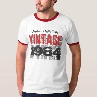 trigésimo Grunge 1984 del vintage del regalo de Poleras