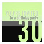 trigésimo Invitaciones de la fiesta de cumpleaños Comunicados