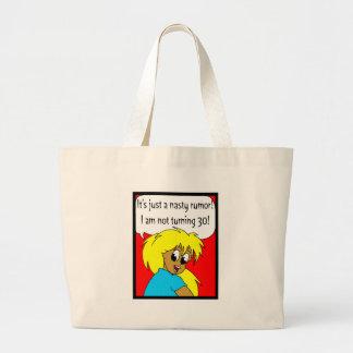 trigésimo La bolsa de asas de los regalos de cumpl