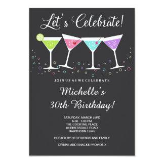 trigésimo La invitación del cumpleaños/el