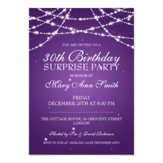 """trigésimo La secuencia de la fiesta de cumpleaños Invitación 5"""" X 7"""""""
