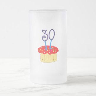 trigésimo Magdalena del cumpleaños Taza De Cristal