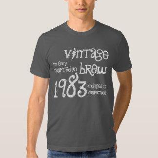 trigésimo Naranja 1983 del Brew del vintage del Polera