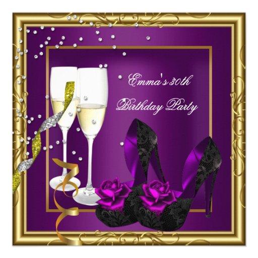trigésimo Negro púrpura del oro del ciruelo de la  Comunicado