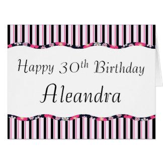 trigésimo o cualquier edad Cumpleaños-GRANDE Felicitaciones
