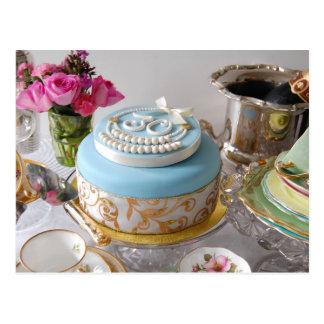 trigésimo Postal de la torta de cumpleaños