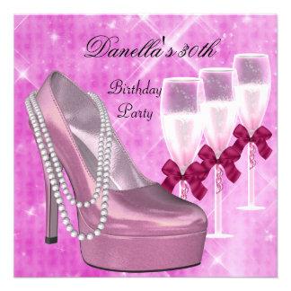 trigésimo Talones rosados Champán 2 de los zapatos Comunicados
