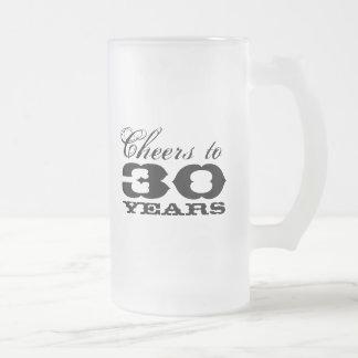 trigésimo Taza de cerveza del cumpleaños para las