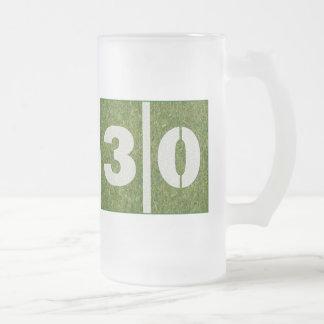 trigésimo Taza del vidrio del fútbol de la yarda