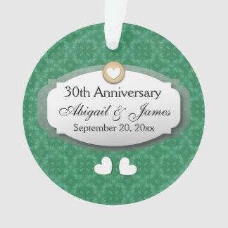 trigésimo Verde Z08 del aniversario de boda del