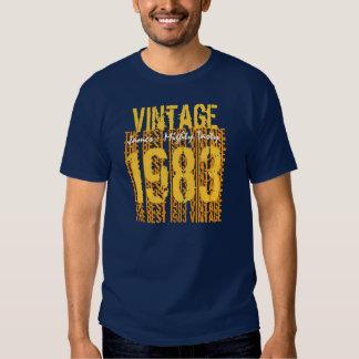 trigésimo Vintage 1983 del regalo de cumpleaños el Poleras