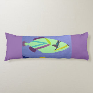 Trigger Fish Body Pillow