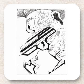 Trigger Man Drink Coaster