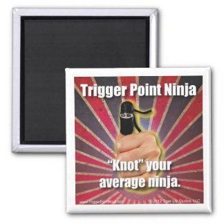 "Trigger Point Ninja ® ""Knot"" Your Average Ninja Magnet"