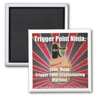 Trigger Point Ninja ® Lean Mean Machine Magnet