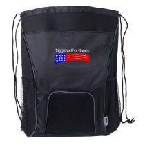 Triggered For Liberty drawstring backpack