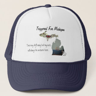 Triggered For Michigan Trucker Hat