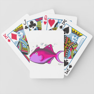 Triggerfish! Bicycle Playing Cards