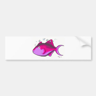Triggerfish! Bumper Sticker