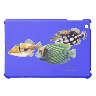 Triggerfish, Clown Triggerfish and Emperor iPad Mini Cases