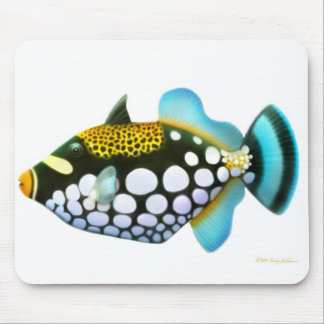 Triggerfish Mousepad del payaso