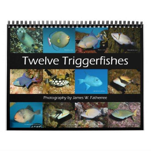 Triggerfishes Wall Calendar by JW Fatherree