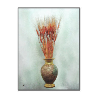 Trigo rojo por el rafi talby lienzo envuelto para galerias