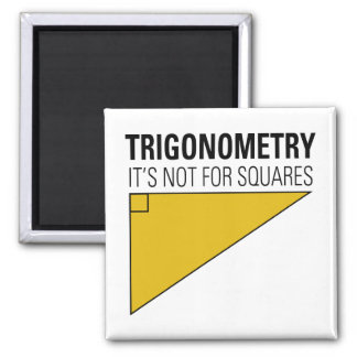 Trigonometry 2 Inch Square Magnet