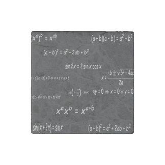 Trigonometry & Algebra Stone Magnet
