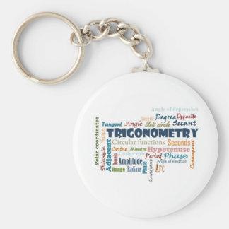 Trigonometry_Display Basic Round Button Keychain