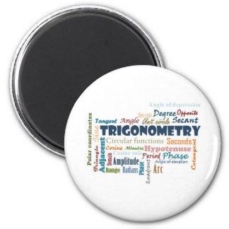 Trigonometry_Display Imán Para Frigorifico