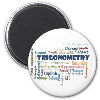 Trigonometry_Display Imán Redondo 5 Cm
