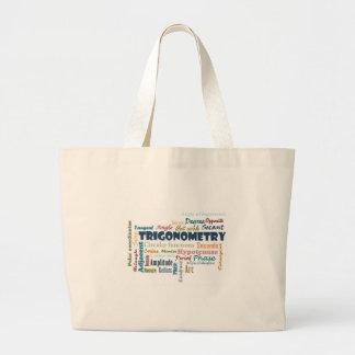 Trigonometry_Display Large Tote Bag