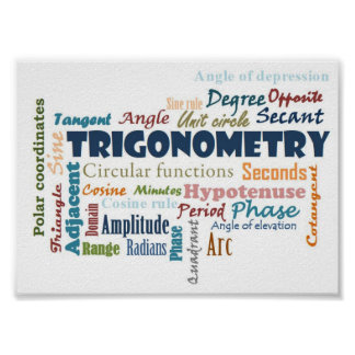 Trigonometry_Display Poster