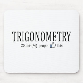 Trigonometry_facebook like mouse pad
