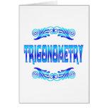 TRIGONOMETRY GREETING CARD