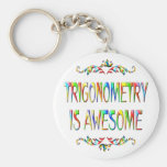 Trigonometry is Awesome Key Chain