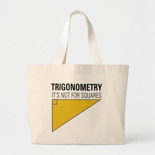 Trigonometry Large Tote Bag
