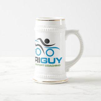 TriGuy Multisport Coaching Beer Stein