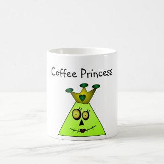 TriHead Zombie Princess Coffee Mug
