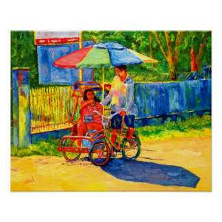 Trike Driver in the Philippines poster